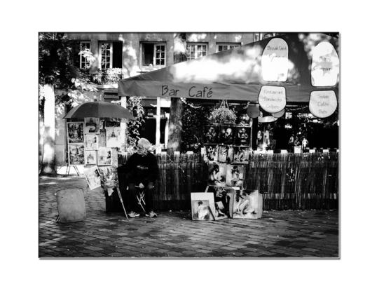 Place de Tertre: Montmartre ©RaquelMarie